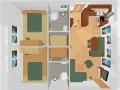 Grundriss - Ferienwohnung - Haus Terra